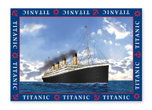 Titanic Tea Towel