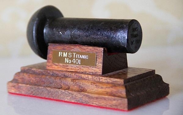RMS Titanic Rivet