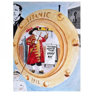 The Titanic Walking Tour A3 Print