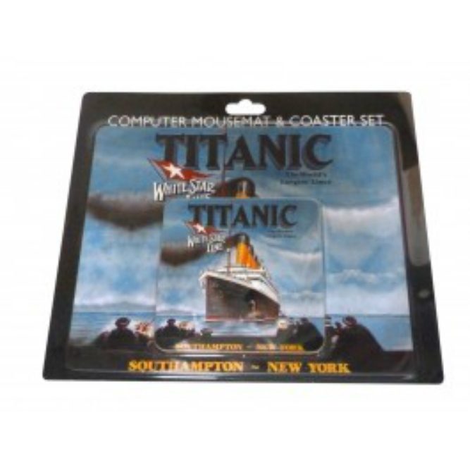 RMS Titanic Mousemat and Coaster Set