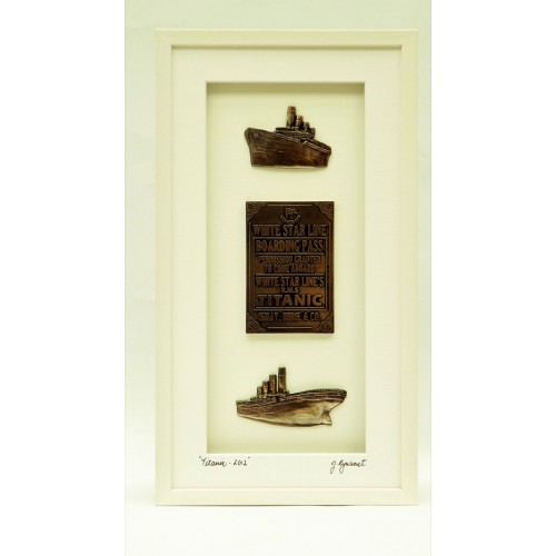 Titanic Commemoration 2012 - White Frame