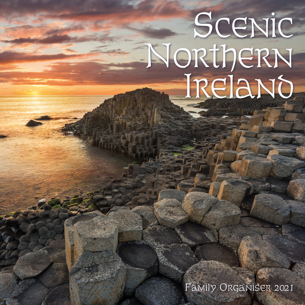 Scenic Northern Ireland Family Organizer 2021