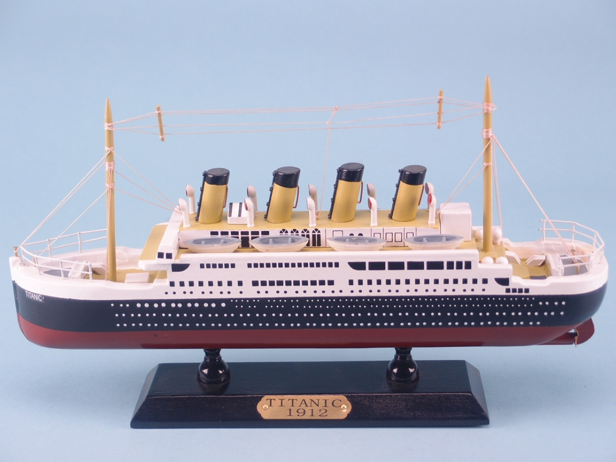 Titanic Cruise Ship Model - 12 inch