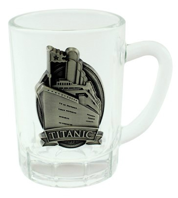 Titanic Mini Glass Tankard