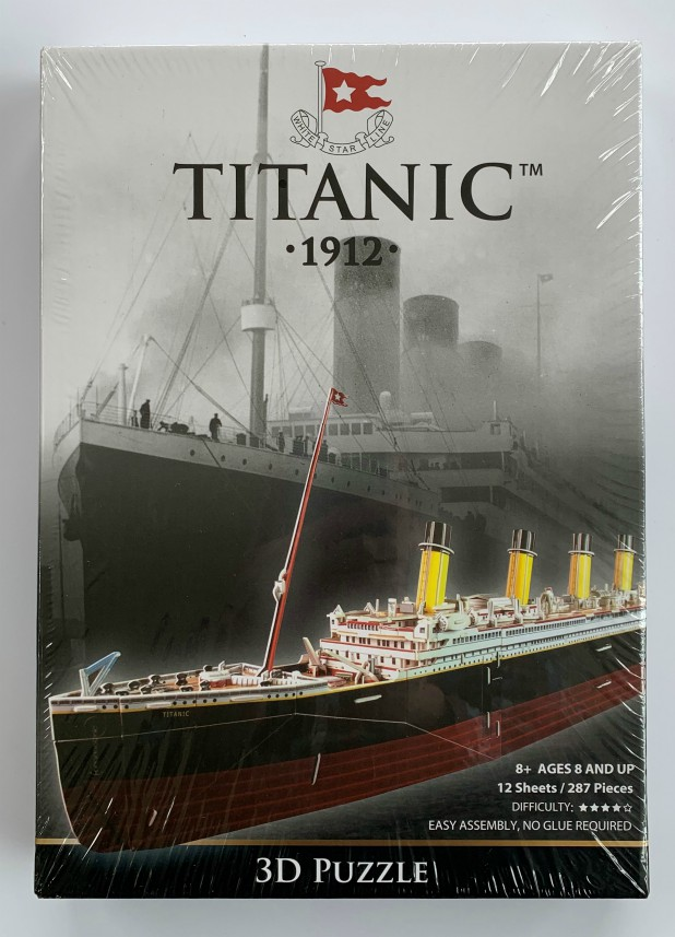 White Star Line Titanic 1912 - 3D Puzzle 287 Pieces