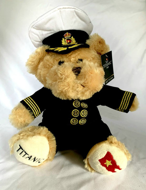 White Star Line Titanic 1912 Officer Bear
