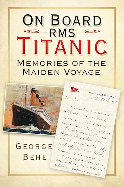 On Board RMS Titanic Book